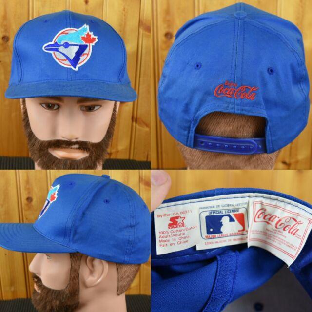 Vintage Toronto Blue Jays Baseball Hat Cap Adjustable Snapback 1990's MLB...
