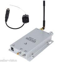 New Wireless Tiny Pinhole Mini CCTV Colour Security Camera Hidden Spycam UK