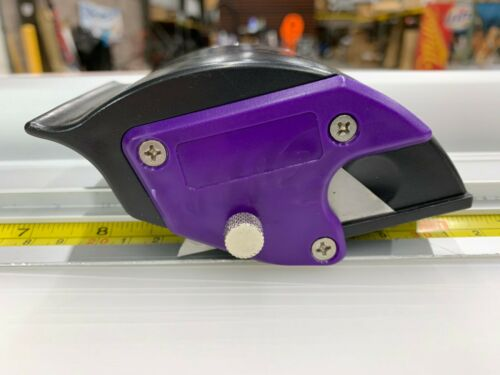 47/'/' ECONO TRIMMER ROTARY CUTTER WITH ALUMINUM BASE VINYL COROPLAST SCRIM
