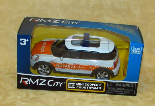 MODELLINO AUTO MINI COOPER S COUNTRY MAN NOTARZT scala 1:43 cod.21994
