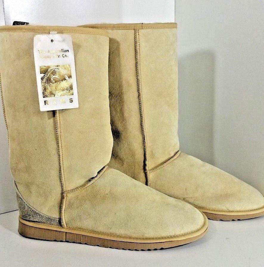 Nuevo Para Hombre botas de piel de oveja de lana Casa 10 casa de Nueva Zelanda Zapatillas 13  De Alto