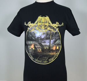 STONE-MAGNUM-From-Time-To-Eternity-Men-039-s-Black-T-Shirt-XL-R-I-P-Records-NEW