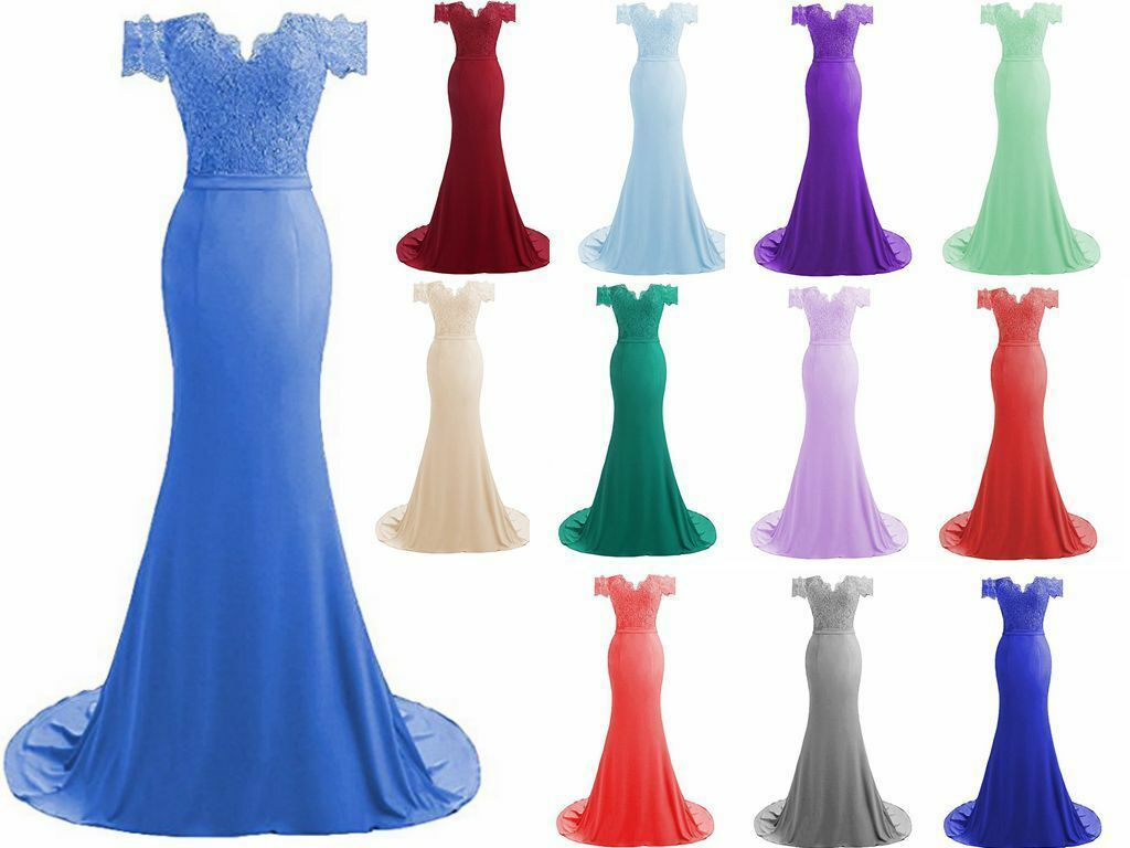 New Long graduation Prom Dress Bridesmaid Dresses Evening Dress Size 6++++++++18