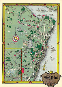 1921-Map-West-Point-Military-Academy-New-York-Poster-Print-Vintage-History