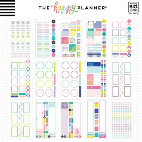 Value Pack Stickers 30 Shts Neon Lights x922 MAMBI The CLASSIC Happy Planner