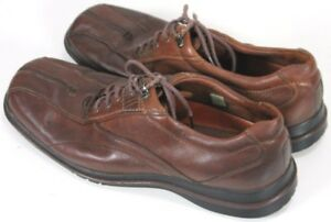 Clarks-Men-039-s-90-Oxfords-Shoes-Size-11-5-Leather-Brown-Lace-Up