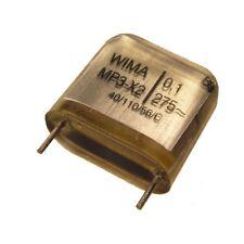 2 WIMA Kondensator MP3-X2 Entstörkondensator MP 3-X2 275V 0,1uF 15mm 054454