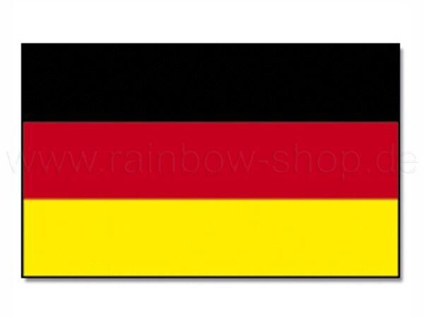 Flagge Fahne Deutschlandfahne 90x150 mit Ösen für Fahnenmast EM WM Fußball Neu