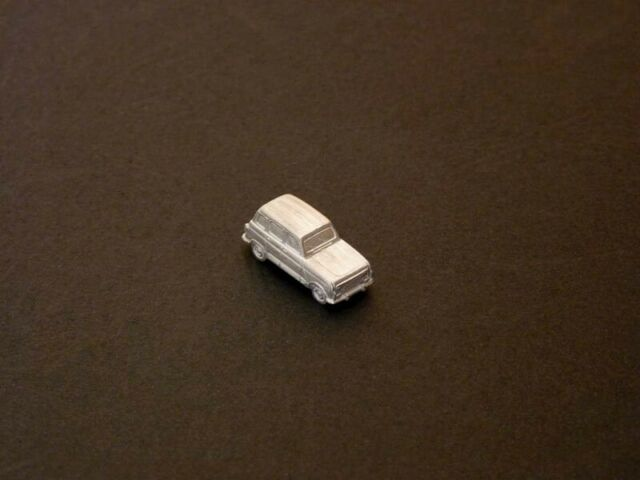 Miniature for Painting Renault 4 TL, Gtl , Clan, Savannah, R4 1974-92, N 1:160
