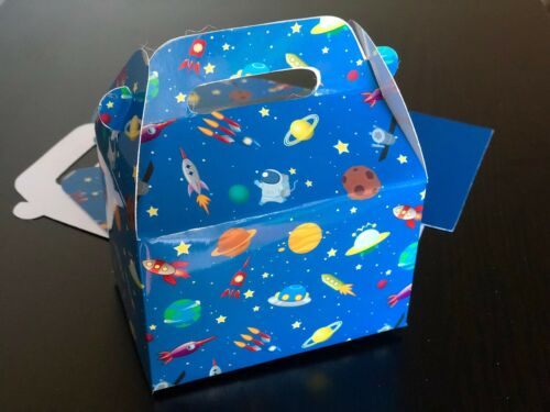 Treat Boxes Gift Boxes 12 NASA Galaxy Space Favor Boxes