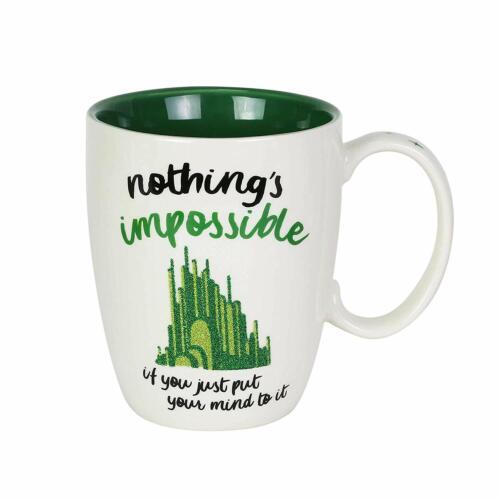 Green Glitter Coffee Cup 12oz New 6003836 Mug Wizard of Oz