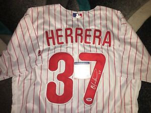 Image is loading Odubel-Herrera-Signed-Philadelphia-Phillies-Jersey -All-Star- 262a6b8a24d