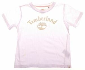 TIMBERLAND Boys Graphic T-Shirt Top 4-5 Years White Cotton AN08