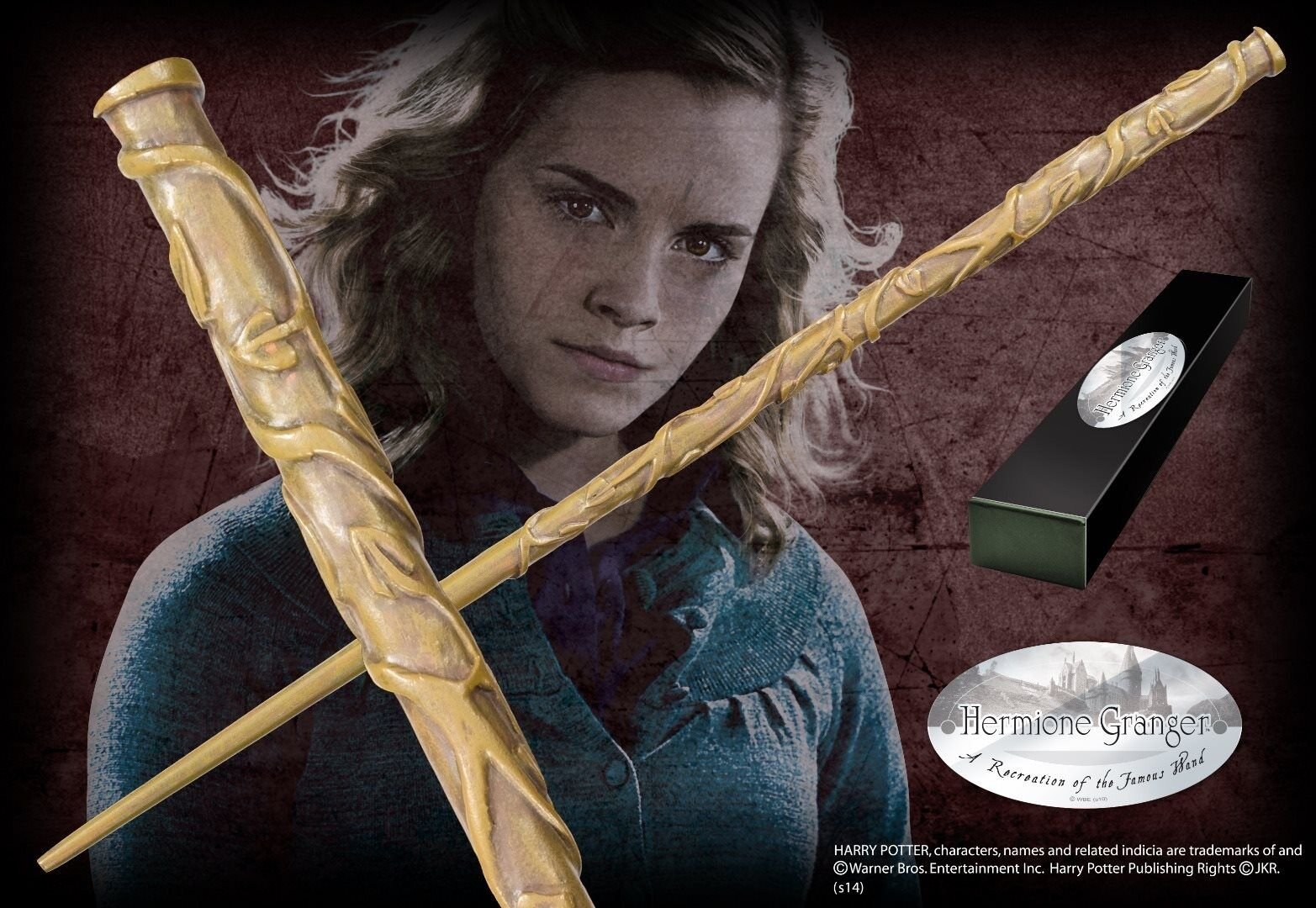 Harry Potter  Hermione Granger Character Wand Bacchetta Magica Noble Collection