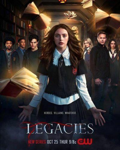 ZA496 Legacies Silk Poster Julie Plec Vampires TV Series 14x21 24x36