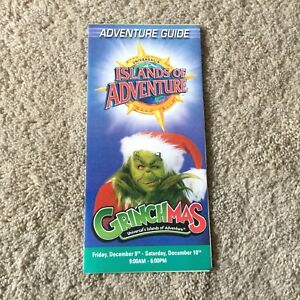 Vintage Universal Studios Florida Islands of Adventure Grinchmas 2005