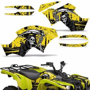 Graphic Kit Yamaha Grizzly 550 700 Atv Quad Decal Sticker Wrap 2007 2014 Reap Yw Ebay