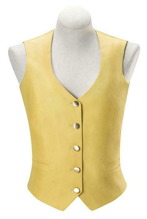 RJ Classics Ladies Sterling Canary Foxhunting  Vest  save 50%-75%off