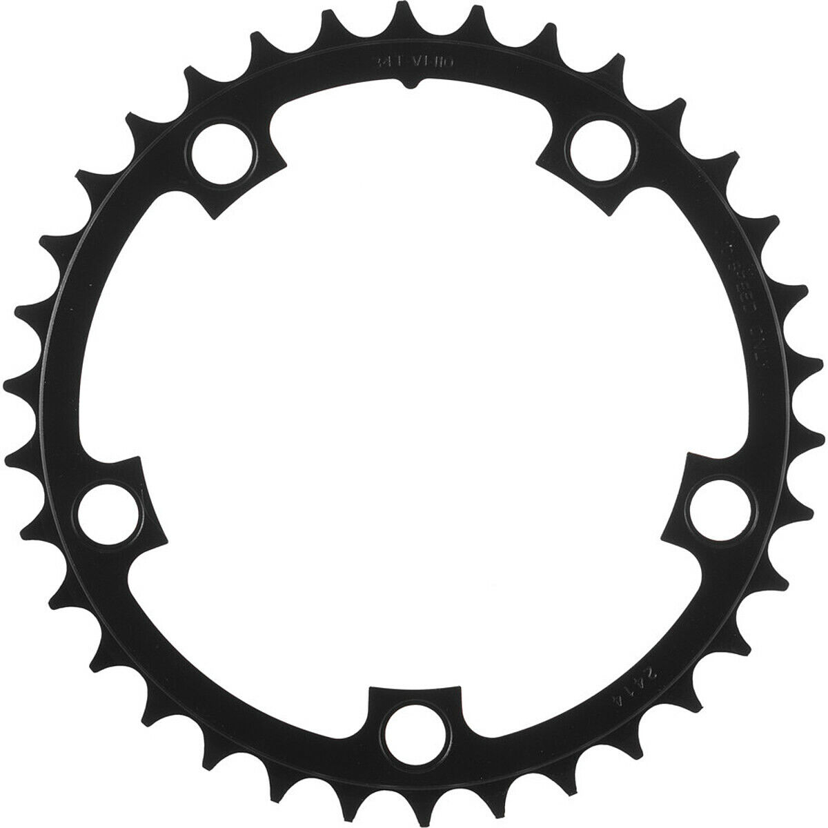 4x Sram Road Chainring 39t 130 BCD V2 Color Grey