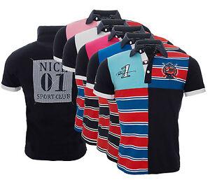 CréAtif Chemise Avec Col Polo T-shirt Sport Club Chemise Manches Courtes D'été H-044-afficher Le Titre D'origine