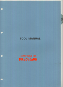 Honda-Factory-Tool-Manual-1980-039-s-Motorcycle-CX-FT-XBR-TLR-VF-VT-CBX-CB1100R-CB95