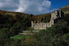 808037 Castle Cambel Autumn A4 Photo Print