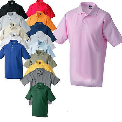 James & Nicholson basis polo shirt one 15 colors S-5XL
