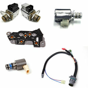 4l80e wiring harness 4l80e transmission solenoid set 6 piece with wire harness ...