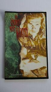 Rare Vampire The Masquerade Kindred Le plus recherché Livre grand format