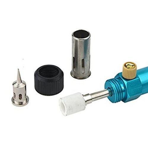 Gas Blow Torch Soldering Iron Gun Butane Welding Pen Tool Cordless Rechargeable