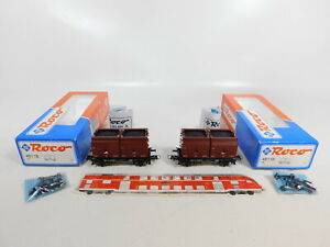 CE851-0-5-2x-Roco-H0-DC-46116-Kuebelwagen-601-8-457-2-DB-NEM-NEUW-OVP