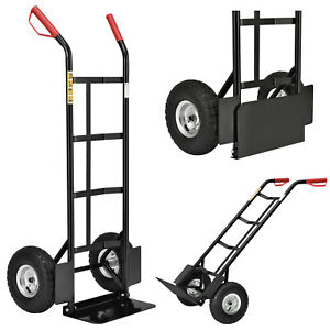 Sackkarre Transportkarre 200 kg klappbar mit Luftreifen Stahl Stapelkarre Karre