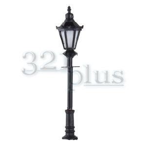 One Head LED Street Lamp Metal Model Trains 1//400 1:400 Gauge