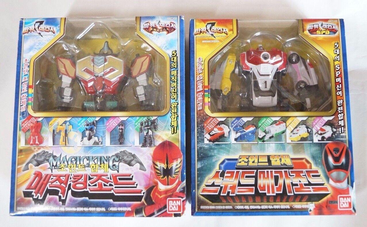 Bandai Power Rangers Conjunto combinación  TITAN Megazord + Figura del escuadrón Megazord