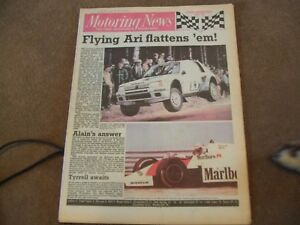 Motoring-News-30-August-1984-1000-Lakes-amp-Mewla-Rally-Dutch-GP-Brands-GpA