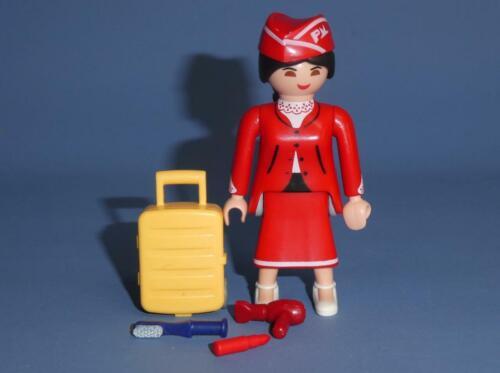 Playmobil Cabin Crew for plane Series 18 Girl Figure 70370 Air Hostess Bag