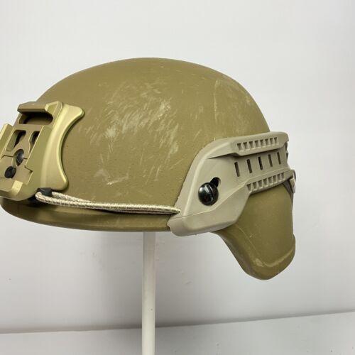 FDE ARC Rail Set For ECH Enhanced Combat Helmet USMC MARPAT Army OCP Wingloc LGE