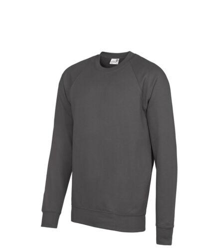 AWDis Academy Raglan SCHOOL JUMPER Sweatshirt Teenage Sizes in Many Colours
