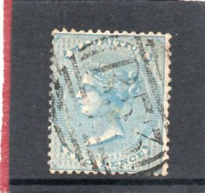 Mauritius-Vic-1863-72-2d-pale-blue-sg-59-Used
