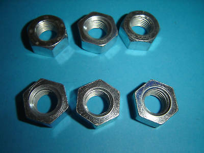 7//16 THS CEI NUTS 20 TPI PACK OF SIX BZP