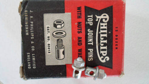 Vintage NOS GENUINE Raleigh Phillips Rod Brake eye-bolts a pair made in England