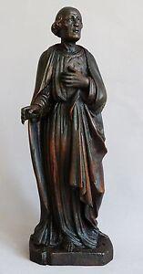 Sculpture- Saint Homme En Tilleul Sculpté- XIX ème GPassUrW-07215039-245001849