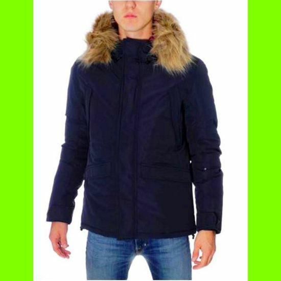 the best attitude 52ffb 257be CIESSE PIUMINI GIACCA UOMO SHORT PARKA BLU-54