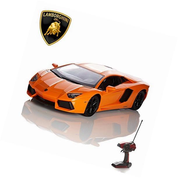 Lamborghini Aventador Remote Radio Controlled Model Car. Measures 35CM Approx.