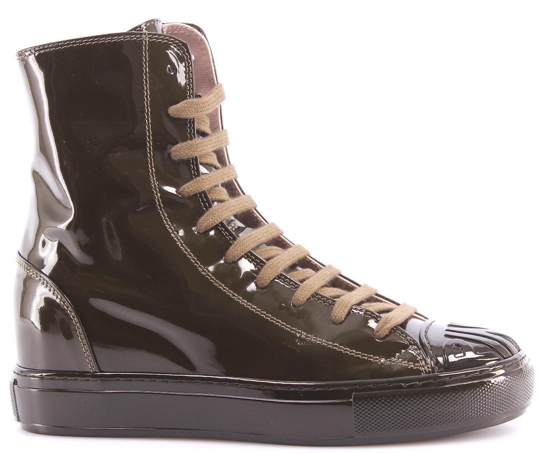 zapatos zapatos zapatos mujer zapatillas Alte rosadoO Shine Baby Shine Biancospino Vernice verde New  Con precio barato para obtener la mejor marca.