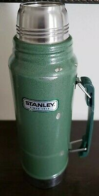 Stanley, Since 1913, Metal Thermos Quart Size 32 Ounce | eBay