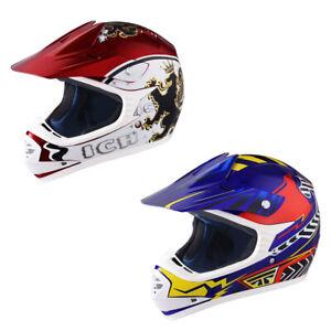 DOT Full Face Youth Motocross Helmet Off Road Dirt Bike Motorcycle ATV BMX S-XL