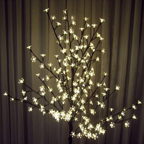 LED Lichterzweig Lichterbaum 200 Blüten 150cm warmweiß BA11639 BA11639 BA11639 xmas 440fd3