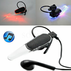 black wireless stereo bluetooth headset earphone for apple iphone 7 plus 6 6s 5c ebay. Black Bedroom Furniture Sets. Home Design Ideas
