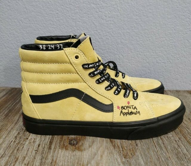 order online novel design newest style Vans Sk8 Hi A Tribe Called Quest Pack ATCQ Bonita Applebum Mellow Yellow